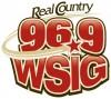WSIG 96.9 logo