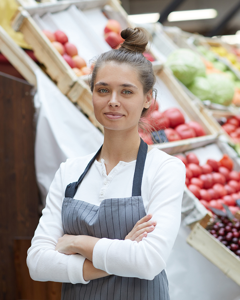 grocery shop owner